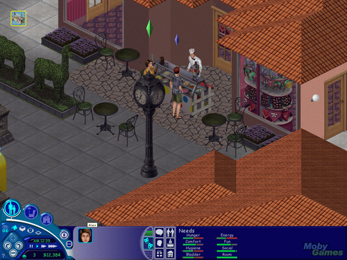 The Sims: Hot encontro, data screenshot