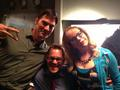 Thomas, Nicholas Brendon & Kirsten - kirsten-vangsness photo