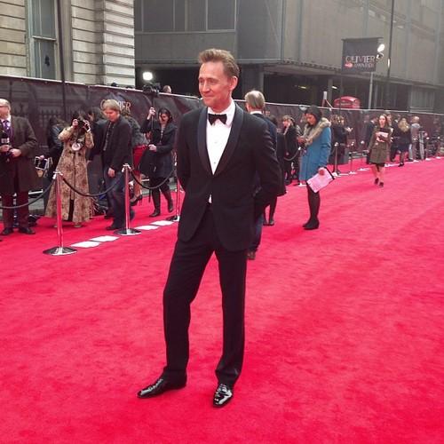 Tom Hiddleston at Olivier Award 2013