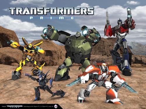 trasnpormer Prime Autobots