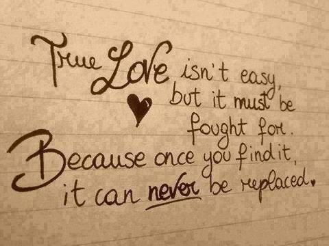 True amor 100% Real ♥