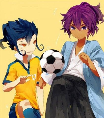 Tsurugi and Okita san ^w^