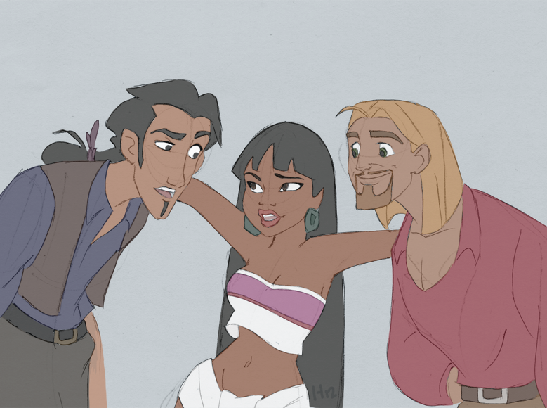Tulio, Chel and Miguel
