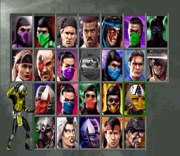 Ultimate Mortal Kombat 3 screenshot