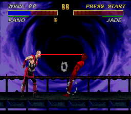 Ultimate Mortal Kombat 3 screenshot