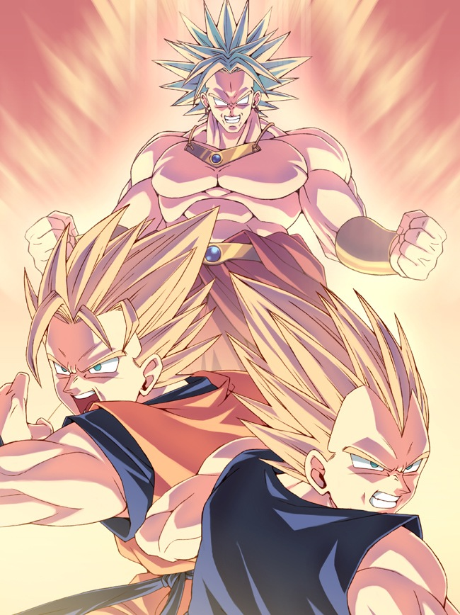 Dragon Ball Z Images Vegeta Goku VS Broly HD Wallpaper And Background Photos