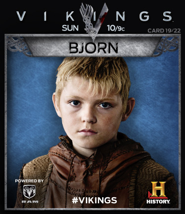 Vikings Collectable Cards 19