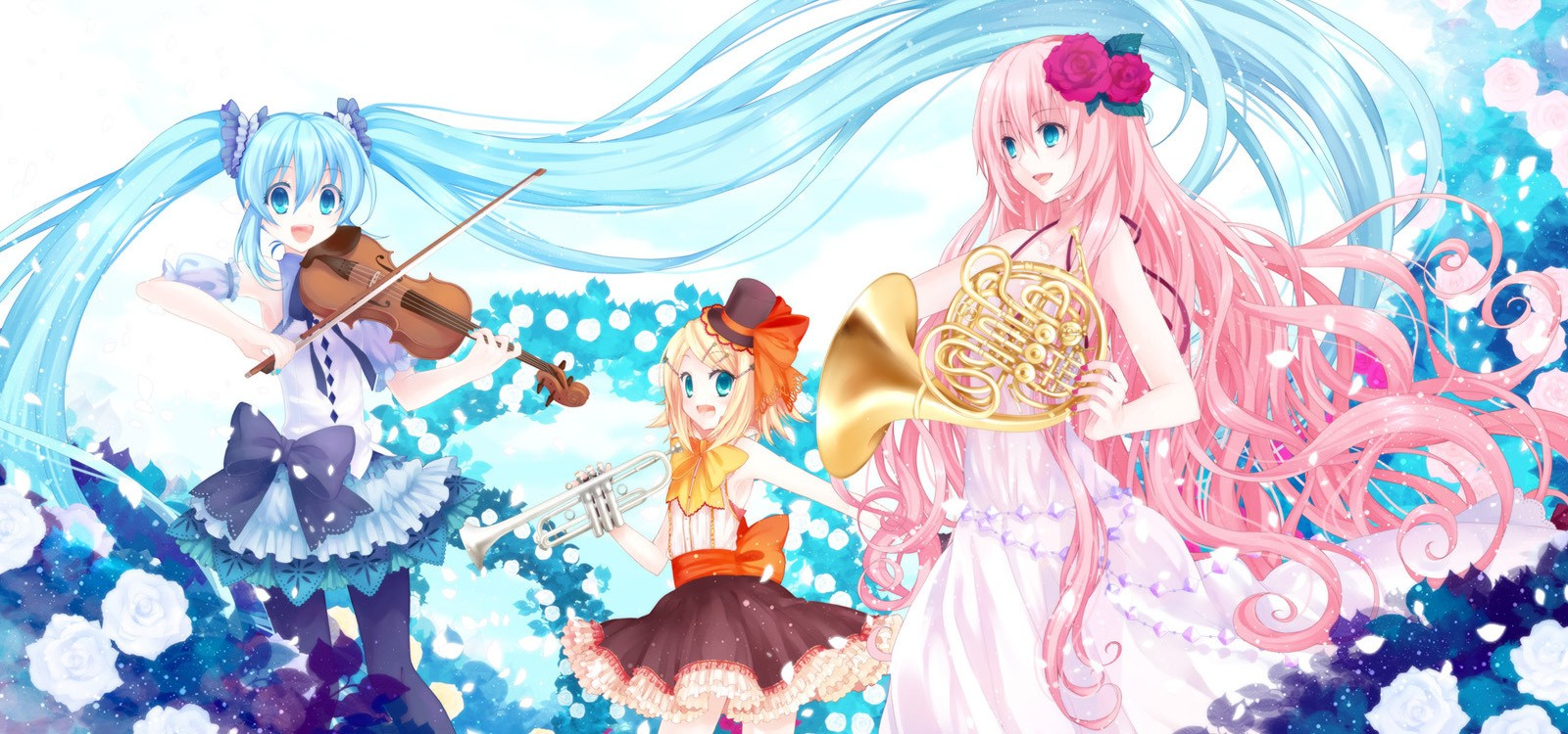 Kawaii Anime Images Vocaloid Wallpaper HD Wallpaper And