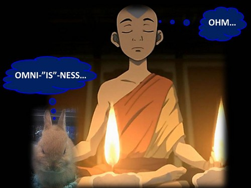 WORDBENDER MEDITATES WITH AVATAR AANG