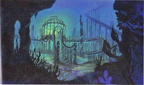 Walt 迪士尼 Backgrounds - The Little Mermaid