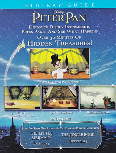 Walt Disney Blu-Ray Guides - Peter Pan: Diamond Edition