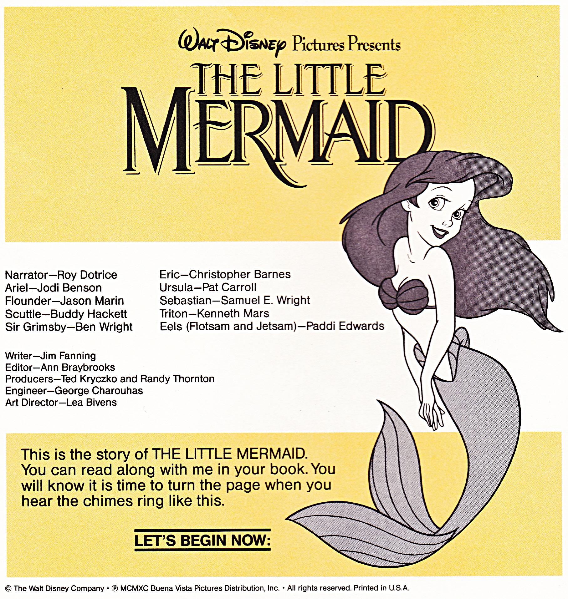 Walt Disney Books - Princess Ariel
