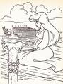 Walt Дисней Coloring Pages - Princess Ariel