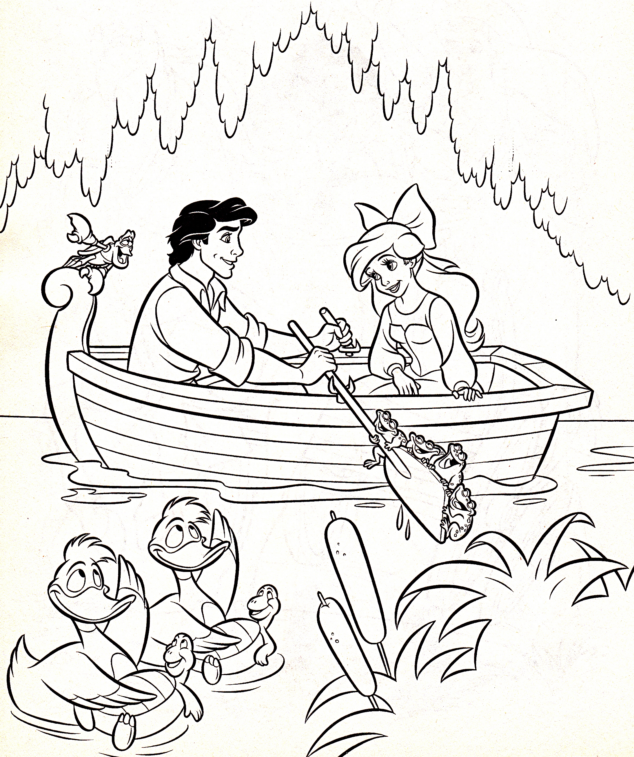 ariel disney coloring pages - photo#50