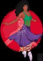 Walt Disney Fan Art - Esmeralda