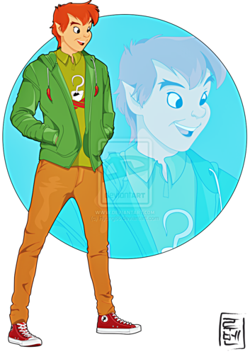 Walt Disney shabiki Art - Peter Pan
