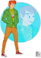 Walt Disney Fan Art - Peter Pan - walt-disney-characters fan art