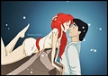 Walt Disney Fan Art - Princess Ariel & Prince Eric - walt-disney-characters fan art
