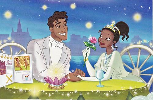 Walt Disney imej - Prince Naveen & Princess Tiana