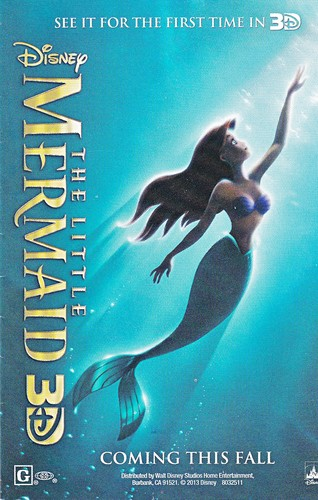 Walt disney imagens - The Little Mermaid 3D