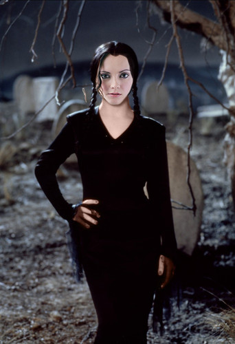 What Christina Ricci would look like as Wednesday in an Addams Family remake
