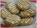 White Chocolate Anzac Biscuits - chocolate photo