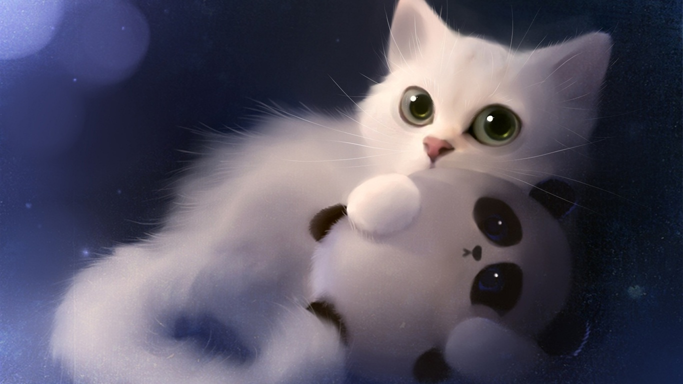apofiss images white cat hd wallpaper and background photos (34398528)