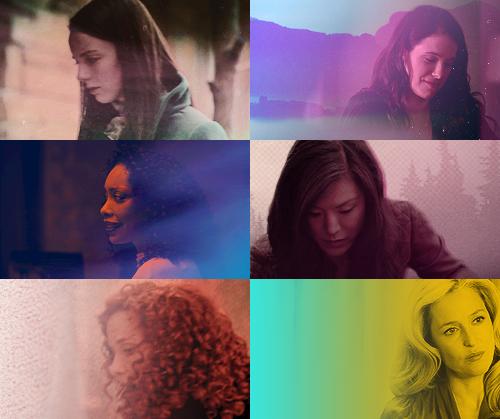 Women of Hannibal + colours