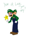 Year of Luigi?! - luigi fan art