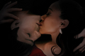 Yin Yang kiss - spock-and-uhura fan art