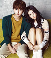 Yoon Si Yoon and Park Shin Hye