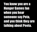 You know you are a Hunger Games fan when: - the-hunger-games fan art