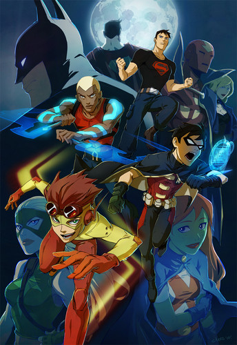 TheOfficialJLA achtergrond containing anime entitled Young Justice ;)