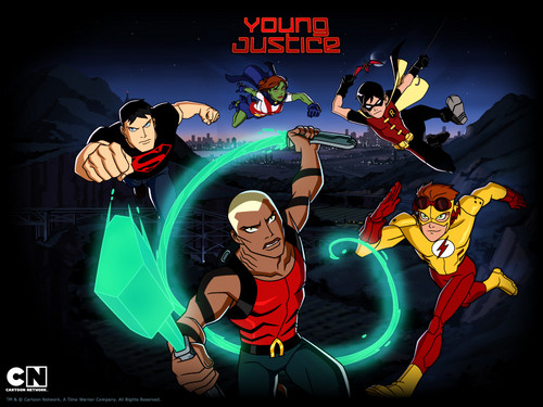 TheOfficialJLA karatasi la kupamba ukuta containing anime entitled Young Justice ;)