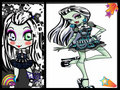 baby frankie  - monster-high-frankie-stein fan art