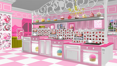 búp bê barbie new house