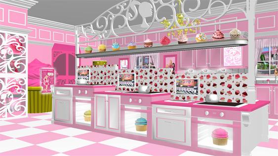 barbie new house
