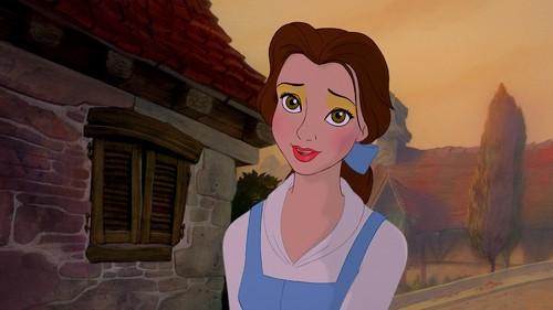 belle's opposing look