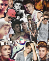 bieber collages <33