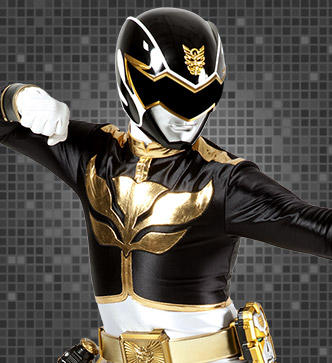 The Power Rangers wallpaper called black ranger megaforce
