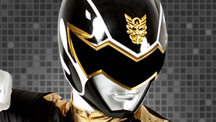 The Power Rangers wallpaper titled black ranger megaforce