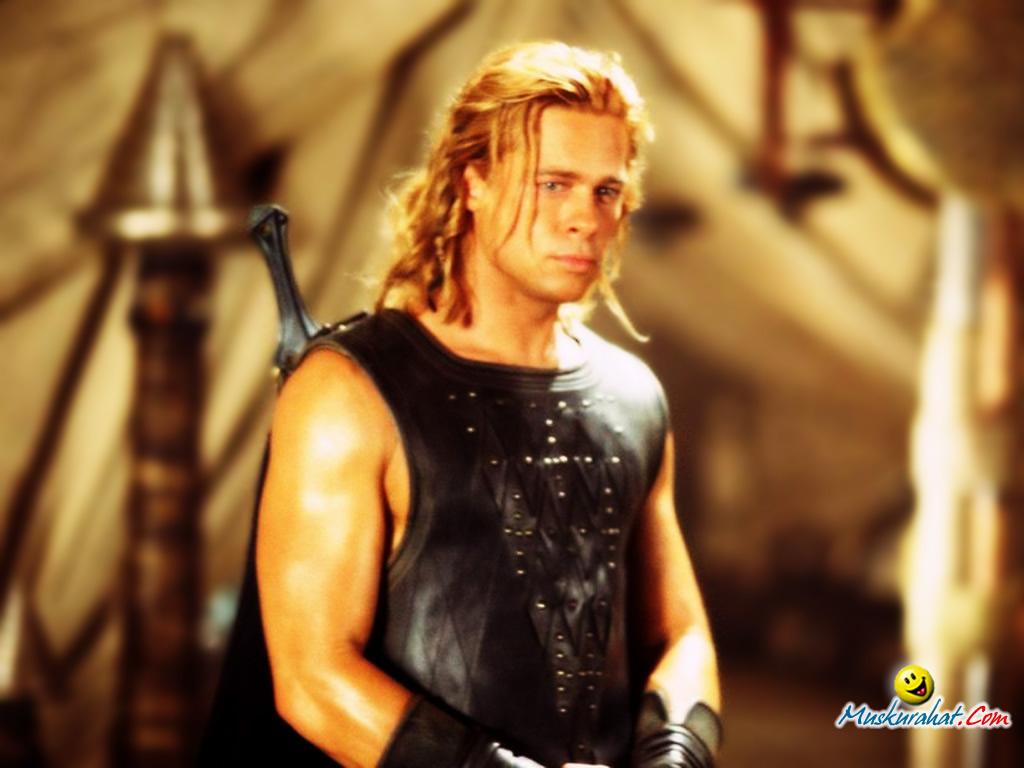 Achilles Brad Pitt harold ramis sam ramis   8