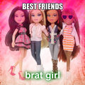 brat girlz - bratz fan art