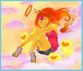 fire angel - flame-princess photo
