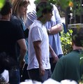 first pictures from Transcendence filming  - johnny-depp photo