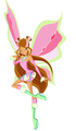 flora lovix - the-winx-club fan art