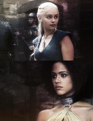 Daenerys Targaryen & Missandei