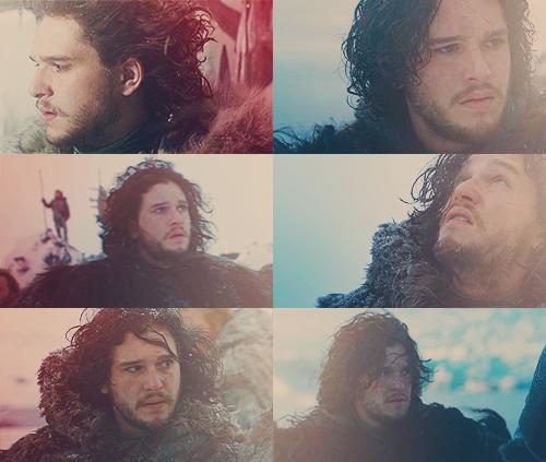 Jon Snow + hair porn