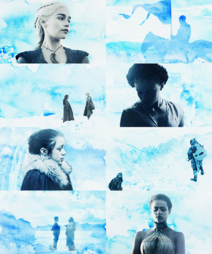 Game Of Thrones + Blue