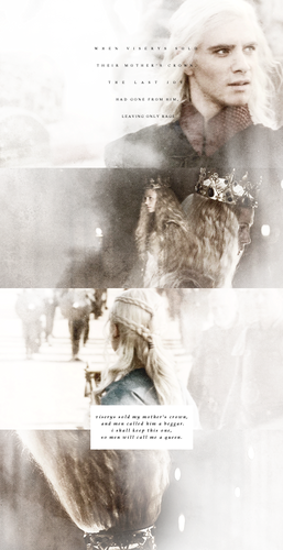 Viserys sold my mother's crown…